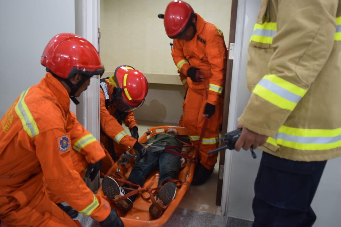 Simulasi Tanggap Darurat 20 Februari 2019