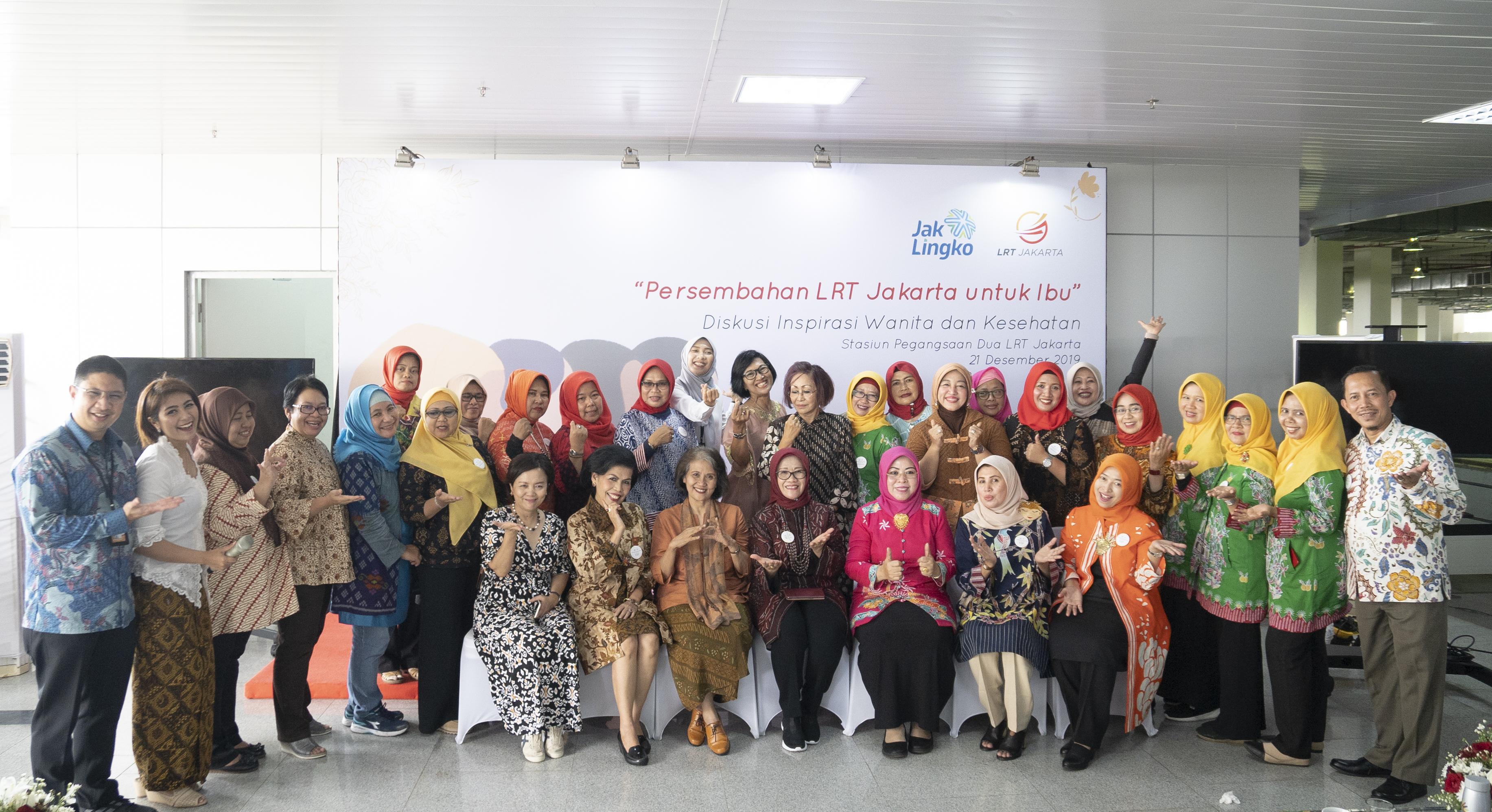 Persembahan LRT Jakarta Untuk Ibu 21 Desember 2019