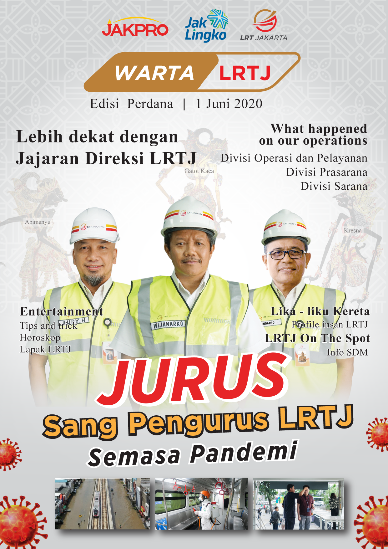 The New Online Media of LRT Jakarta, Warta LRTJ