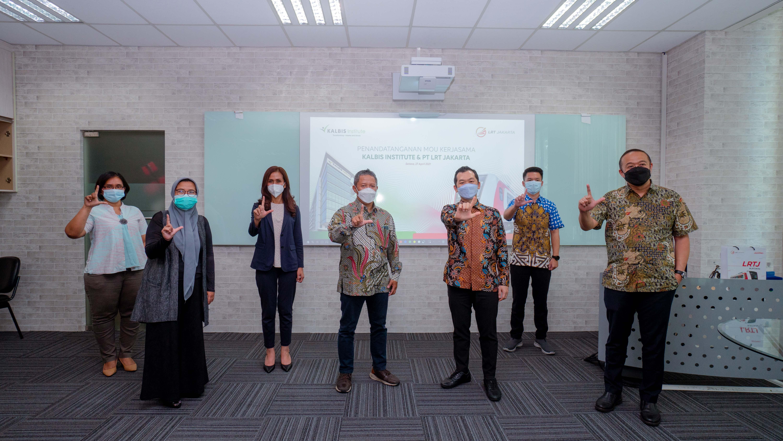 KALBIS Institute dan PT LRT Jakarta Berkolaborasi soal Dosen Tamu, Magang, Beasiswa